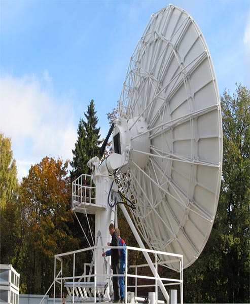 7 3m large satellite dish for sale earth station antenna web